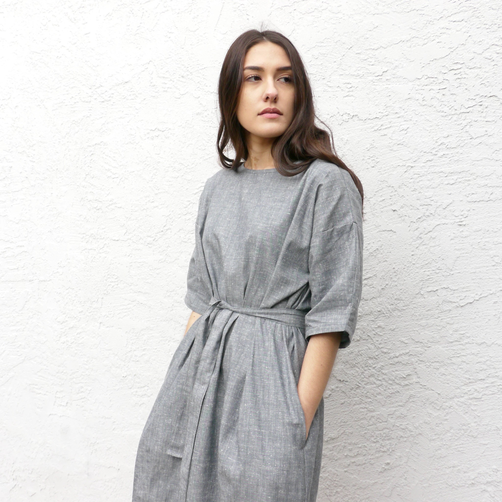 Bubble Dress - Grey