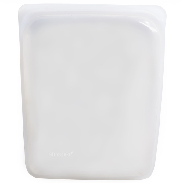 Stasher Silicone Bag 1/2 Gallon, Clear