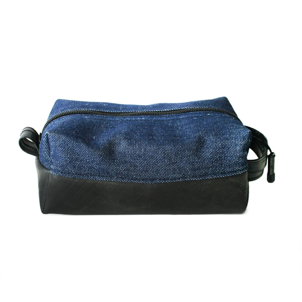 Elliott Dopp Kit, Salvaged and Upcycled Materials