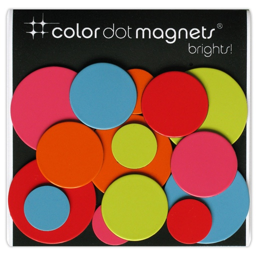 Color Dot Magnets