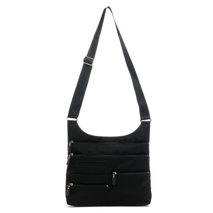 Multi Pocket Shoulder, Black, Medium