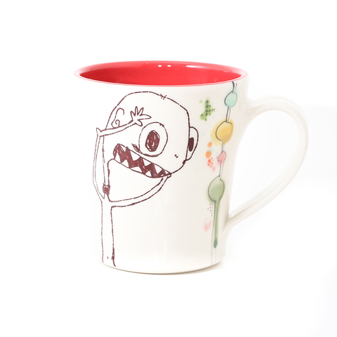 Monster Mug Red