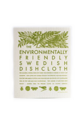 Environmentally Friendly Swedish Dishcloth