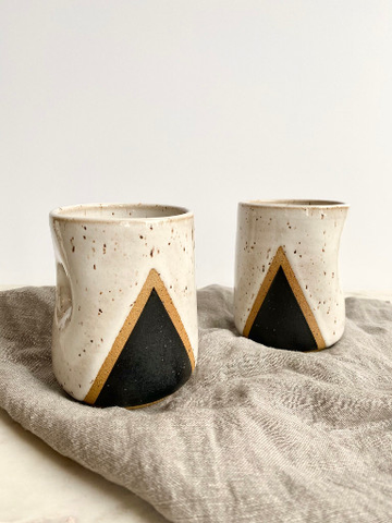Handmade Tumbler, Mountain