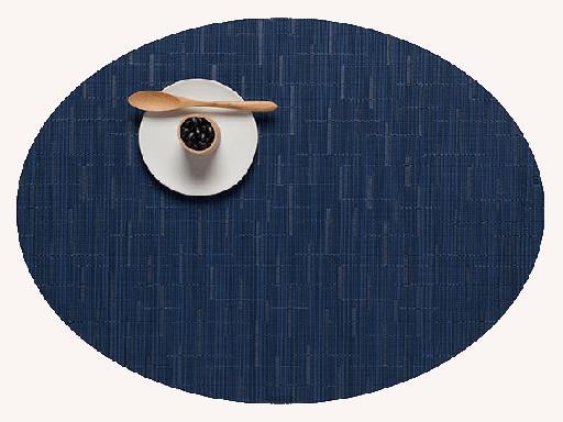 Placemat, Bamboo weave, Lapis, Oval