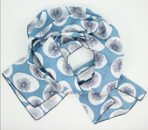 Cotton + Rayon Lightweight Scarf
