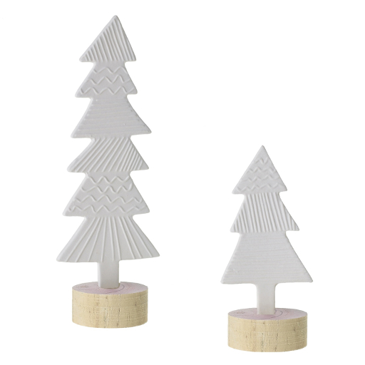 Pattern Tree, White Small