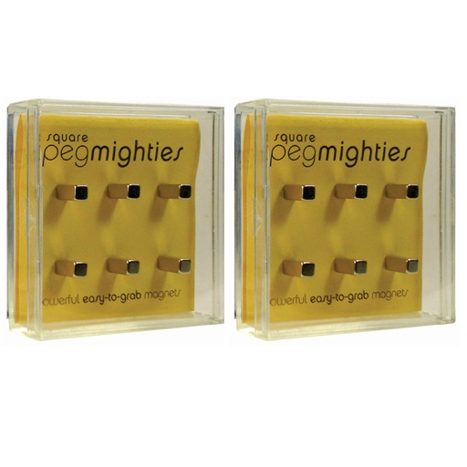 Square Peg Mightiy Magnets