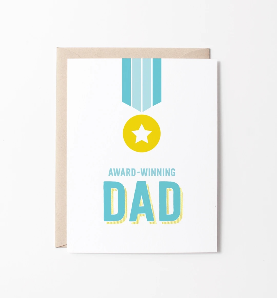 Award Winning Dad Card