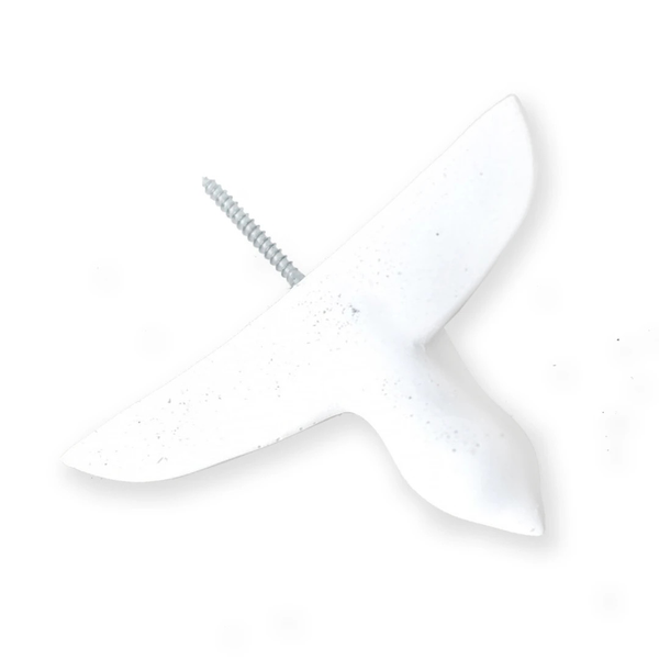 Cast Concrete Bird Hook, Large
