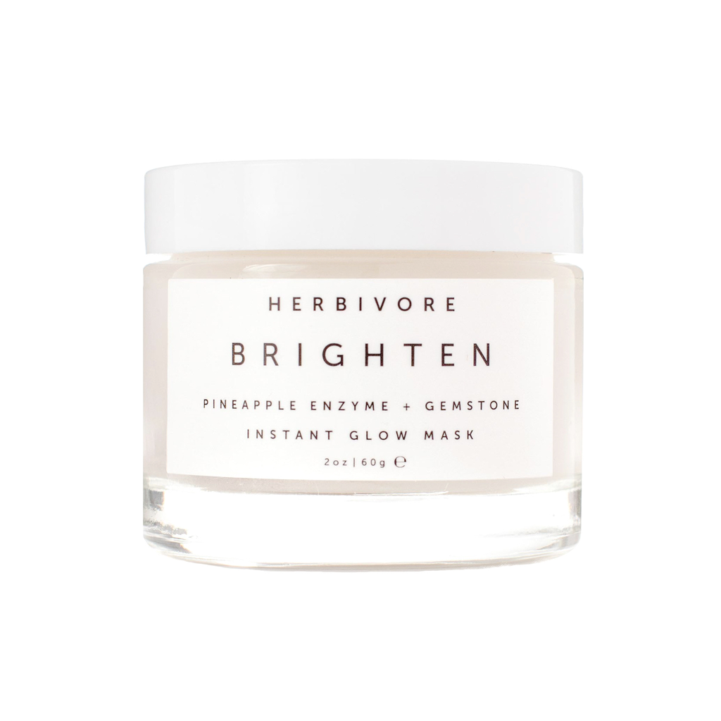 Herbivore Brighten Pineapple + Gemstone Mask