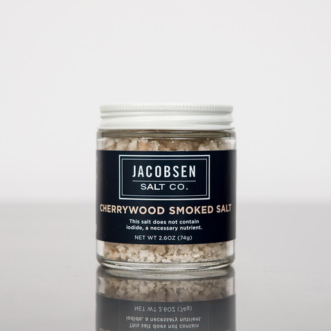 Hand-Harvested Flake Smoked Finishing Sea Salt