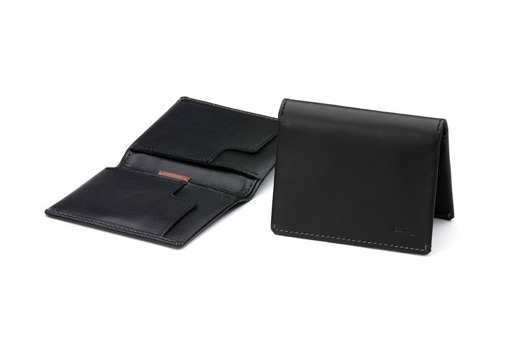 Slim Sleeve compact leather wallet