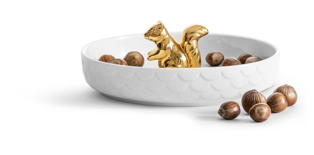 Gold Squirrel Plate