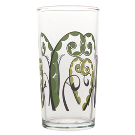 Italian Wine Glass, Fiddlehead pattern