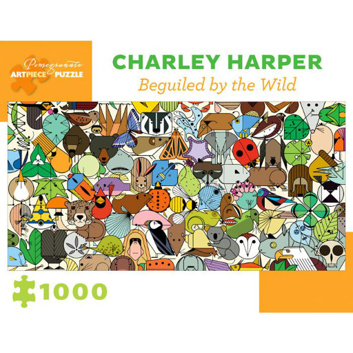 Charley Harper, Beguiled by the Wild 1000 piece puzzle