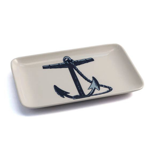 Scrimshaw Anchor Tray