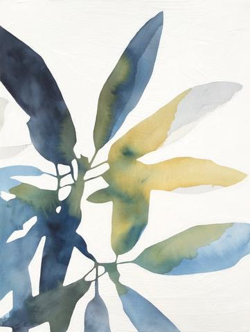 Rhododendron Botanical Watercolor by Rachel Austin, 18x24