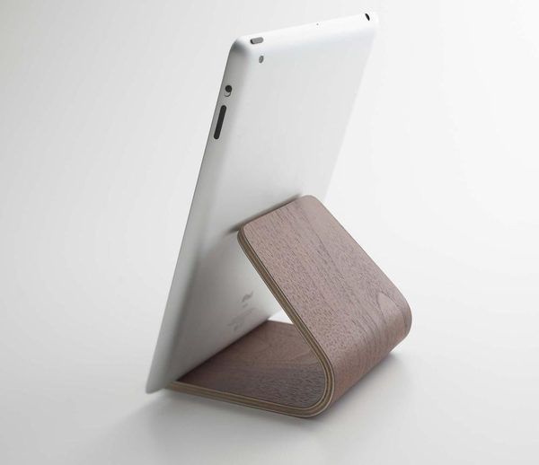 Bent Plywood Tablet Stand