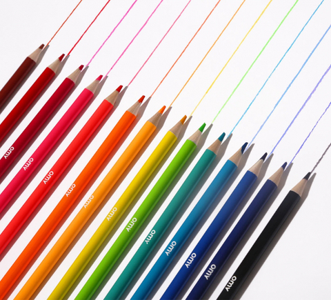 Neon + Metallic Colored Pencils, Set of 16