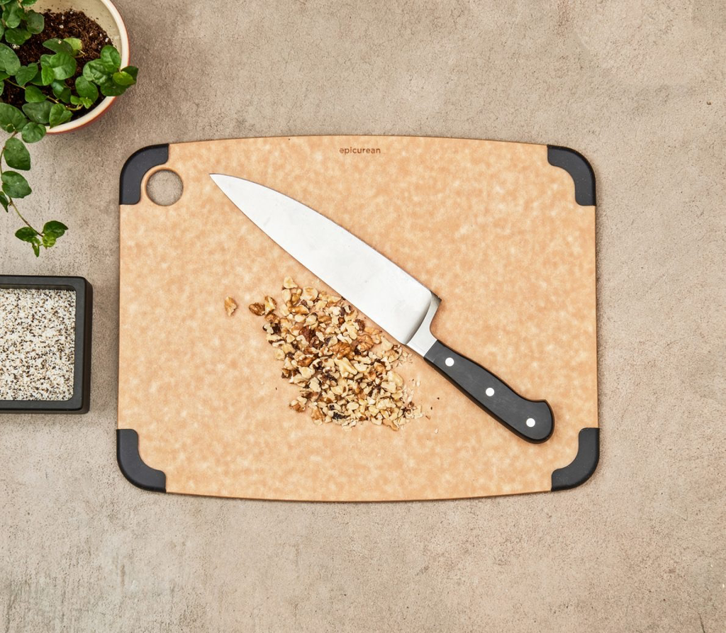 Cutting Board with Non-Slip Corners