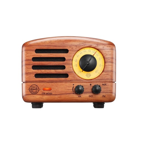 Rosewood Bluetooth Speaker + FM Radio