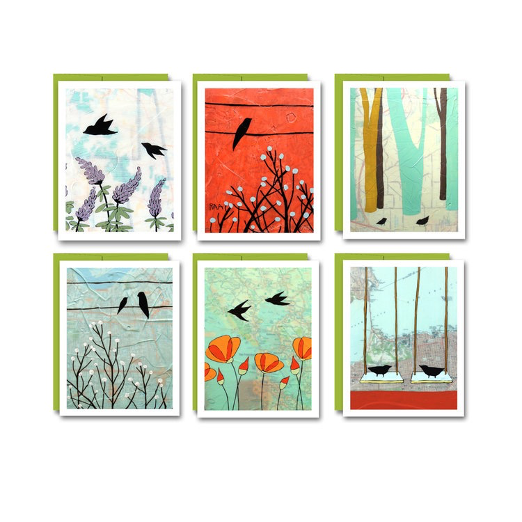 Birds Notecard Set