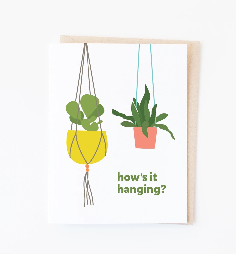 Hanging Plants Card