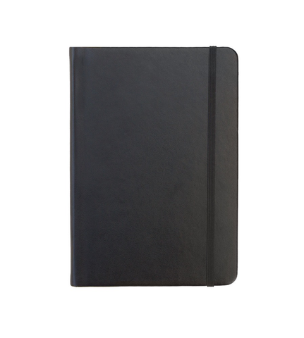 Rekonect Magnetic Notebook, Black