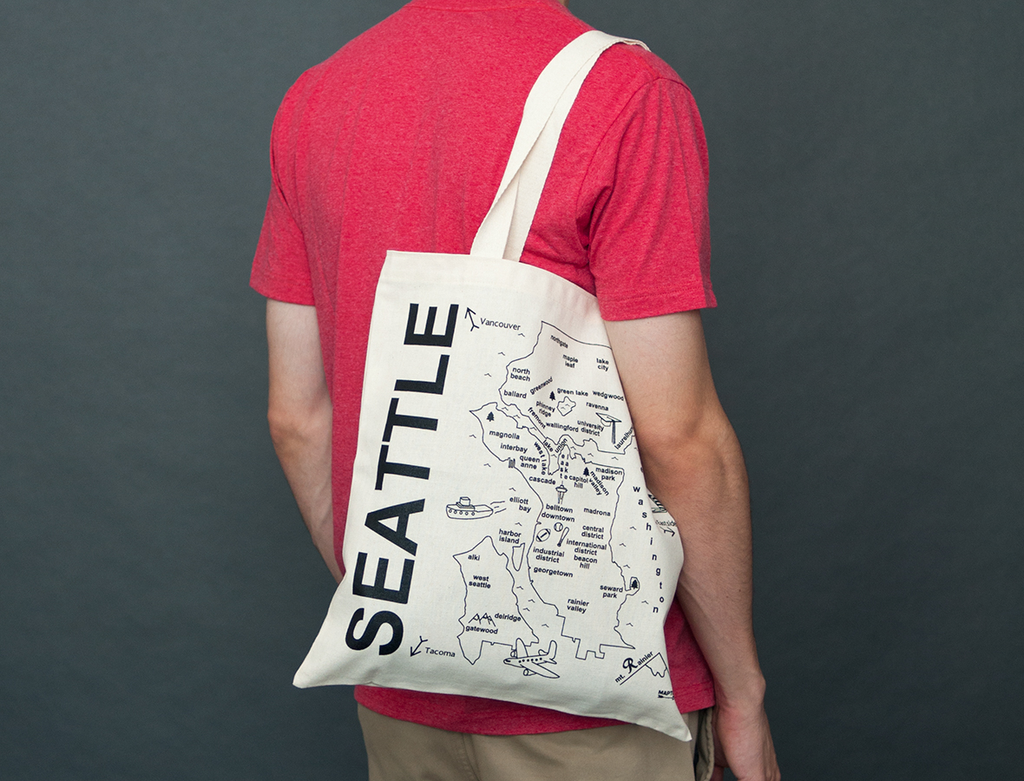 Maptote Seattle Tote