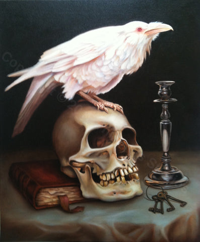 """Skeleton Key"" Signed 20"" x 30"" Giclee print"