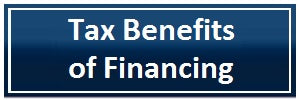 tax benefits of financing accubrass