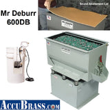600DB Mr Deburr 6.5 CF Rectangular Vibratory Finishing Tank
