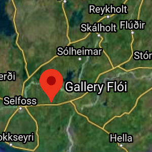 Hvar eru Gallery Flói og Fanndís til húsa? / Where are Gallery Flói and Fanndís located?