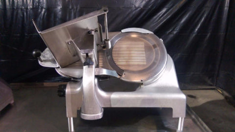 "Used-Berkel 808 Stainless Steel 12"" Slicer-BUYREL"