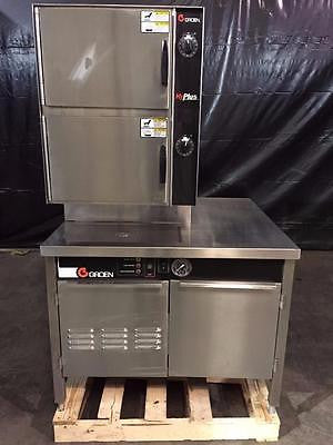 Used-Groen NEB/1 two compartment convection steamer-BUYREL
