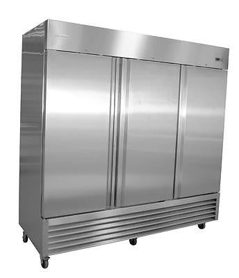 Servware RR-3 Three Door Reach-In Refrigerator