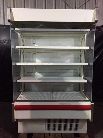 Used-Hussmann DD5-4D/G Refrigerated Open Merchandiser-BUYREL