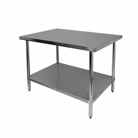 "Stainless Steel Work Table Size (D*W) 30"" x 72"""