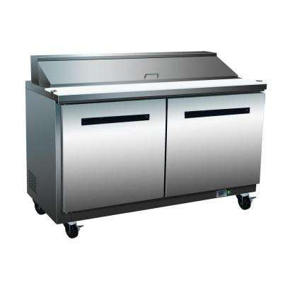 Sandwich Prep 60-16M / 16 Pan Prep Unit