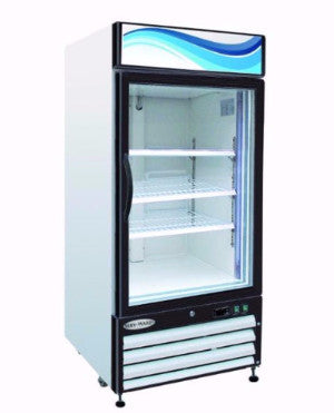 Glass Door Reach-12 / 12 cu. ft. 1 Door Refrigerator