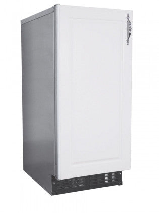 AM-50BAE-AD, Ice Maker, Air-cooled, Self Contained, Built in Storage Bin-BUYREL