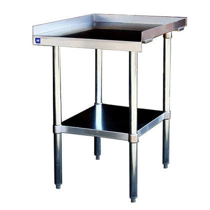 ES3072 -Equipment Stand (30x72) 430 S/S Top, Gal Undershelf & Legs-buyREL