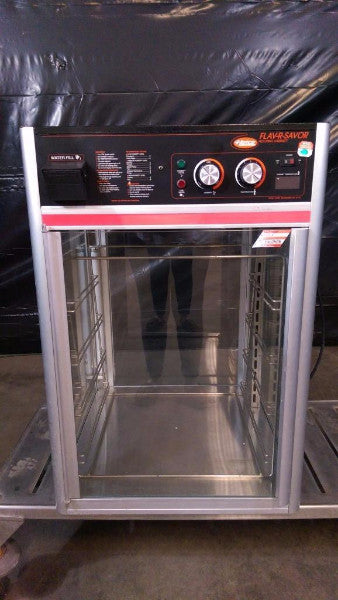 Used-Hatco FST-1X Flav-R-Savor Humidified Hot Food Holding Cabinet w/ 4 Tier Pan Rack-BUYREL