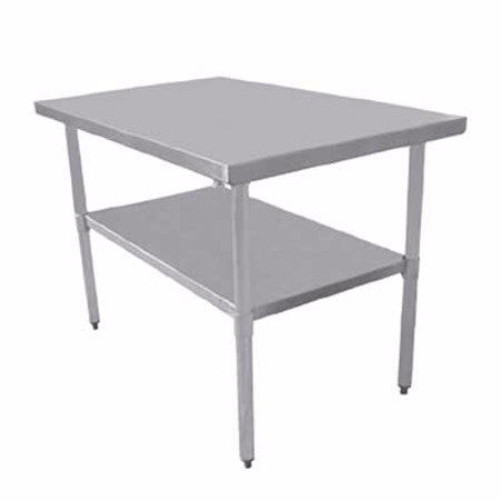 "Stainless Steel Work Table T1824CWP-4 18"" x 24"""