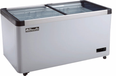 BACF11-11 CuFt. 2 Sliding Glass Door Flat Top Ice Cream Freezer-buyREL