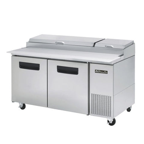 BAPP67-2 Doors All Stainless Pizza Prep.Table-buyREL