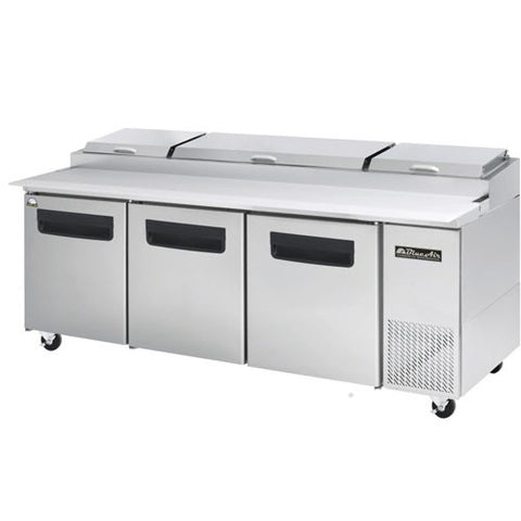 BAPP93-3 Doors All Stainless Pizza Prep.Table-buyREL