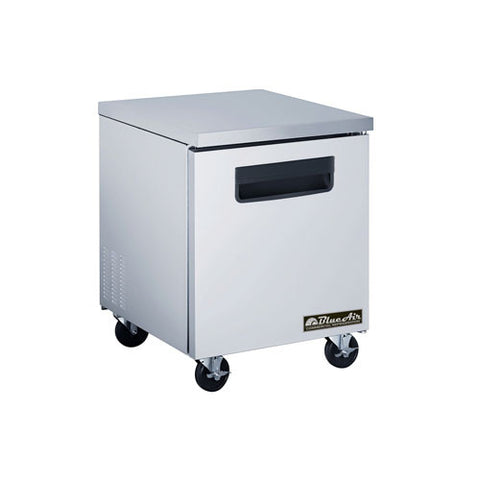 "BAUF28-1 Door All Stainless Under-counter Freezer / 28""-buyREL"