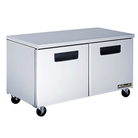 "BAUF60-2 Doosr All Stainless Under-counter Freezer / 60""-buyREL"